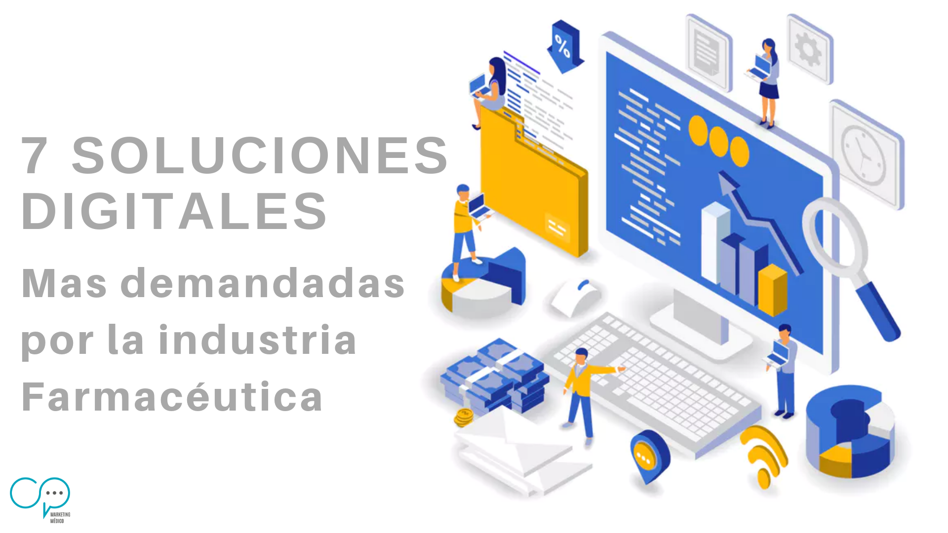 7 soluciones digitales cpmm cp marketing medico